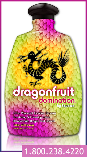 draganfruit domination indoor tanning lotion
