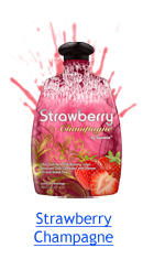 Strawberry Champagne Indoor Tanning Lotion